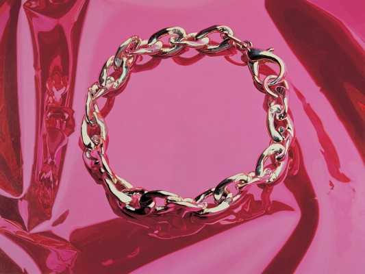 Jeff Koons, Bracelet, 1995-98 (Celebration), Abbildung: Courtesy Gagosian Gallery