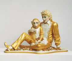 Jeff Koons, Michael Jackson and Bubbles, 1988 (Banality), © Jeff Koons